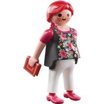 Playmobil 5244 Figura Serie 3 Mujer Embarazada #11 Retromex