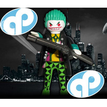Playmobil Guason Custom The Joker Batman Villano Retromex!!