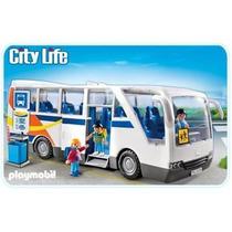 Playmobil 5106 Camion - Autobus Ciudad Escuela Retromex!!