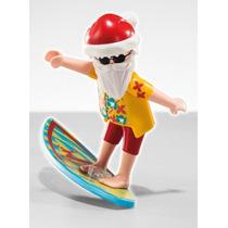 Playmobil 5458 Figura Serie 6 Surfista #11 Navidad Retromex