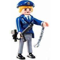 Playmobil 5459 Figuras Serie 6 Policia #2 Rescate Retromex