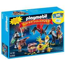 Playmobil 5493 Calendario Medieval Caballero Dragon Retromex