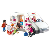 Playmobil 5267 Mini Bus D Hotel Ciudad Camion Retromex