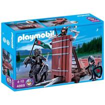 Playmobil 4869 Carro D Asalto Caballeros Medieval Retromex