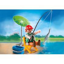 Playmobil 4779 Especial Plus Pescador Granja Retromex