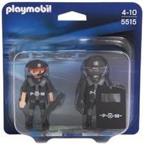 Playmobil 5515 Blister Policias Rescate Ciudad Retromex