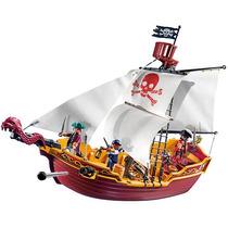 Playmobil Piratas - Red Serpiente Barco Pirata