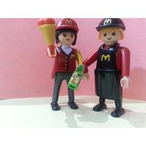 Playmobil Custom Empleados De Mc Donald