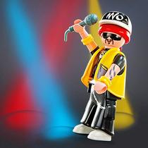 Playmobil 5284 Figura 8 Serie4 Rapero Hip Hop Regae Retromex