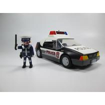 Playmobil Patrulla D Policia Rescate Ciudad 5607 Retromex