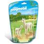 Playmobil 6647 Animales Zoo Llama Yama Con Cria Bebe Safari