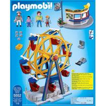 Playmobil 5552 Rueda D La Fortuna Feria Ciudad Retromex