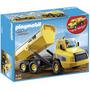 Playmobil 5468 Camion Contenedor Construccion Dumper Retrome