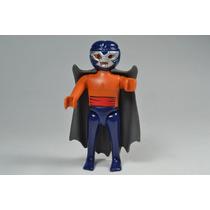 Playmobil Custom Blue Demon Luchador Lucha Libre Retromex