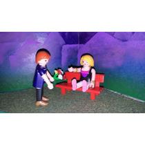 Playmobil Banca De Parque Con Novios Vacaciones Ciudad Feria