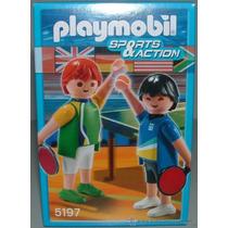 Playmobil Olimpicos 11 Diferentes Pin Pon Juguetisur