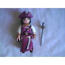 Mujer Pirata Playmobil Sobre Sorpresa Serie 4