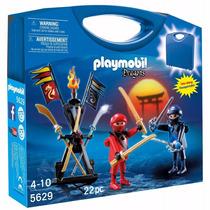 Playmobil 5629 Maletin Ninjas Medieval Samurai Retromex