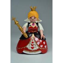 Playmobil Custom Reina De Corazones Alicia Disney Retromex