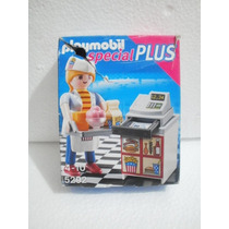 Playmobil 5292 Special Plus Restaurante Cajera Comida 12 Pzs