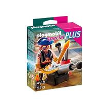 Playmobil Specialplus 5413 5408 Pirata Cañon Ycaballero Lobo