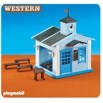 Playmobil : Escuela Iglesia 6279 Add On Medieval