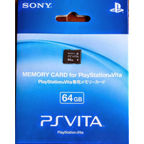 Tarjeta De Memoria 64gb Sony Playstation Vita, Ps Vita