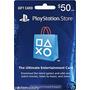 Tarjeta De Prepago Playstation 50usd.
