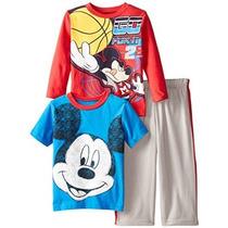 Mickey Mouse 3 Piezas Disney Little Boys