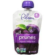 Plum Organics Bebé Acaba De Frutas Ciruelas 3,5 Bolsas Ounce