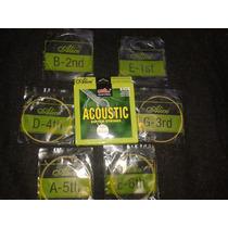 Juego De 6 Cuerdas Para Guitarra Acústica De La Marca Alice