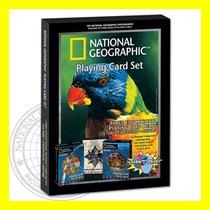 Set De 3 Mazos National Geographic Barajas Cartas