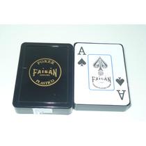 Baraja Poker 100% Plastico Marca Faisan.