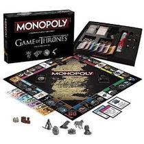 Monopolio: Juego De La Edición Juego De Mesa De Tronos Colle