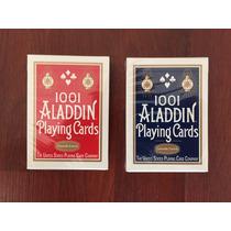Baraja Aladdin 1001 Smooth Finish Ideal Para Cardistry Magia