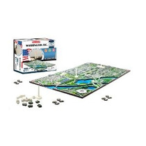 4d Washington Dc Skyline Tiempo Puzzle