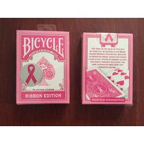 Baraja Bicycle Pink - Ribbon Edition Para Poker O Magia
