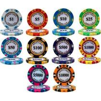 Poker Rollito De 25 Fichas Pro 14 G Monte Carlo Poker Club