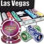 Poker Estuche 300 Fichas Casino 14 Grams Mod Las Vegas Laser