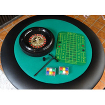 Mesa De Poker, Ruleta, Ajedrez, Black Jack Y Backgammon.