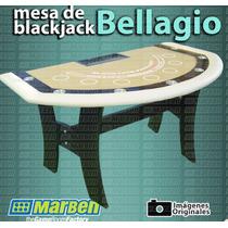 Mesa De Black Jack Profesional Bellagio - Envío Grátis