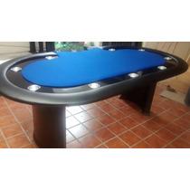 Mesa De Poker !! Blue Galaxy !! Con Base Profesional