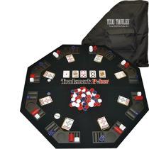 Mesa Para Poker Fichas Baraja Bolsa Transporte Portatil
