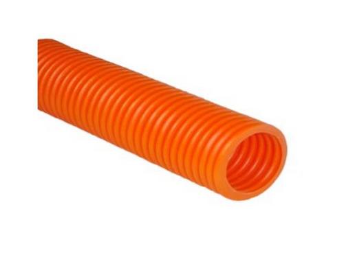 Poliducto corrugado naranja 1 1 2 rollo 50 mt 1 - Tubo corrugado rojo ...