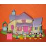1995 Disney Minnie Surprise Party Completo Luces 6 Figuritas