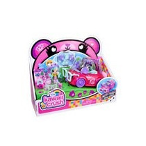 Kawaii Crush Carrito Convertible Betty Teddy T Polly Pocket