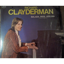Disco Acetato De Richard Clayderman Balada Para Adelina