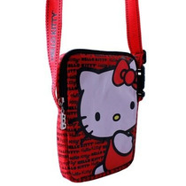 Funda Mochila Hello Kitty Tablet 7 Pulgadas Roja