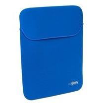 Funda Laptop 12 Y 13 Pulgadas Neopreno Reversible Azul Negro