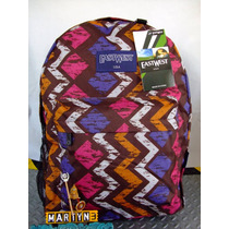 Mochila Eastwest U.s.a Square Color Importada